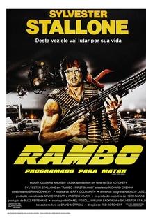 Rambo: Programado Para Matar - Poster / Capa / Cartaz - Oficial 9