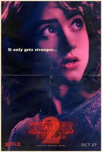 Stranger Things (2ª Temporada) - Poster / Capa / Cartaz - Oficial 12
