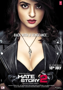 Hate Story 2 - Poster / Capa / Cartaz - Oficial 1