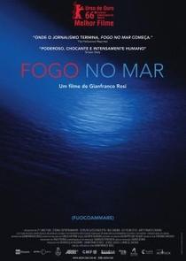Fogo no Mar - Poster / Capa / Cartaz - Oficial 3
