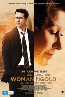 A Dama Dourada - Poster / Capa / Cartaz - Oficial 5