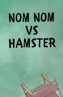 We Bare Bears: Nom Nom vs. Hamster - Poster / Capa / Cartaz - Oficial 1