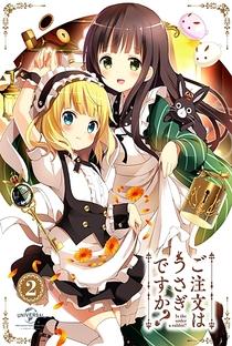 Gochuumon wa Usagi Desu ka? (1ª Temporada) - Poster / Capa / Cartaz - Oficial 3
