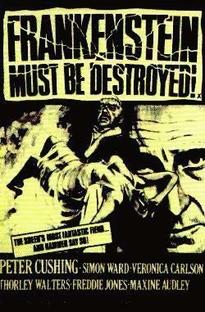 Frankenstein Tem Que Ser Destruído  - Poster / Capa / Cartaz - Oficial 3