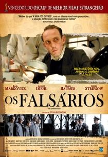 Os Falsários - Poster / Capa / Cartaz - Oficial 2