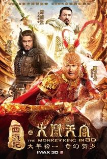 A Lenda do Rei Macaco: Tumulto no Reino Celestial - Poster / Capa / Cartaz - Oficial 7