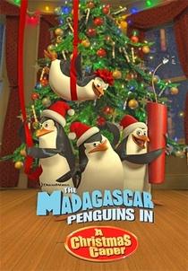Os Pinguins de Madagascar - Missão de Natal - Poster / Capa / Cartaz - Oficial 1