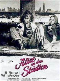 Alice nas Cidades - Poster / Capa / Cartaz - Oficial 2