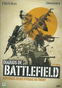 DIÁRIOS DE BATTLEFIELD-HISTÓRIAS REAIS VIVIDAS NO FRONT volume 2 - Poster / Capa / Cartaz - Oficial 1