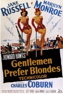 Os Homens Preferem as Loiras - Poster / Capa / Cartaz - Oficial 6