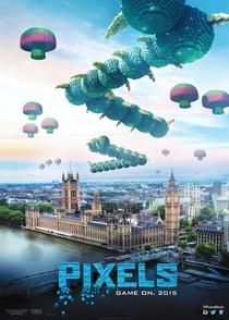 Pixels: O Filme - Poster / Capa / Cartaz - Oficial 2