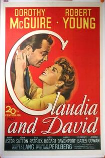 Cláudia e David  - Poster / Capa / Cartaz - Oficial 1