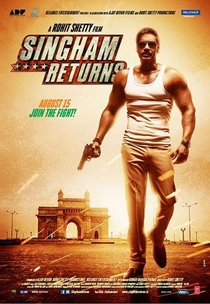 Singham Returns - Poster / Capa / Cartaz - Oficial 4