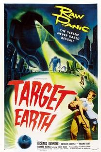 Target Earth - Poster / Capa / Cartaz - Oficial 1