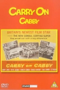 Carry on Cabby - Poster / Capa / Cartaz - Oficial 1