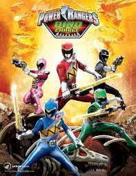 Power Rangers:  Dino Charge - Poster / Capa / Cartaz - Oficial 1
