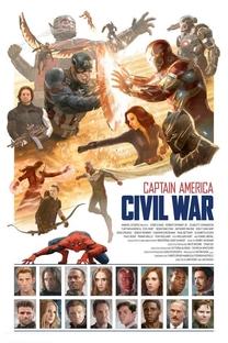 Capitão América: Guerra Civil - Poster / Capa / Cartaz - Oficial 46