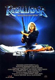 Retaliator - Programada para Matar - Poster / Capa / Cartaz - Oficial 1