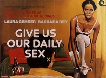 ...And Give Us Our Daily Sex  - Poster / Capa / Cartaz - Oficial 1