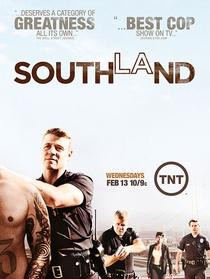 Southland: Cidade do Crime (5ª Temporada) - Poster / Capa / Cartaz - Oficial 1