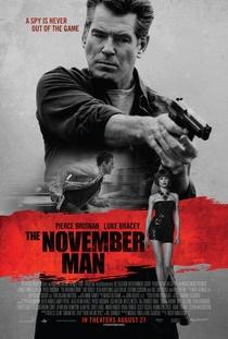 November Man - Um Espião Nunca Morre - Poster / Capa / Cartaz - Oficial 1