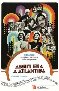 Assim Era a Atlântida - Poster / Capa / Cartaz - Oficial 1