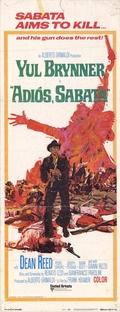Adiós, Sabata - Poster / Capa / Cartaz - Oficial 8