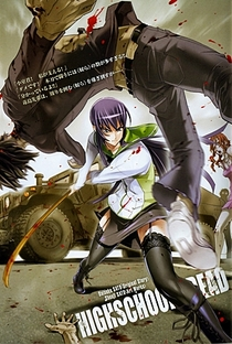 Highschool of the Dead - Poster / Capa / Cartaz - Oficial 23