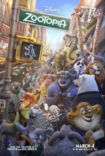Zootopia: Essa Cidade é o Bicho - Poster / Capa / Cartaz - Oficial 6