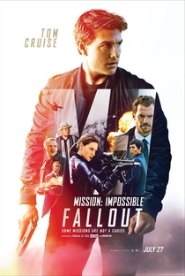 Missão: Impossível - Efeito Fallout - Poster / Capa / Cartaz - Oficial 20