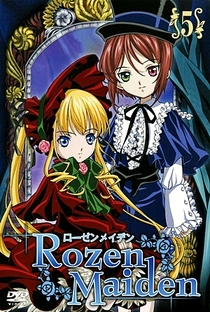 Rozen Maiden (1ª Temporada) - Poster / Capa / Cartaz - Oficial 11
