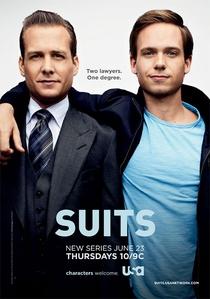 Suits (1ª Temporada) - Poster / Capa / Cartaz - Oficial 2