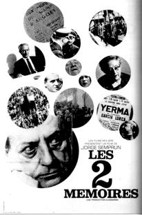 As Duas Memórias - Poster / Capa / Cartaz - Oficial 1