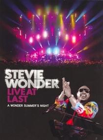 Stevie Wonder: Live at Last - Poster / Capa / Cartaz - Oficial 1
