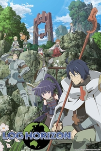 Log Horizon - Poster / Capa / Cartaz - Oficial 1