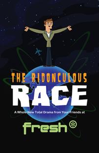 Total Drama Presents: The Ridonculous Race - Poster / Capa / Cartaz - Oficial 1
