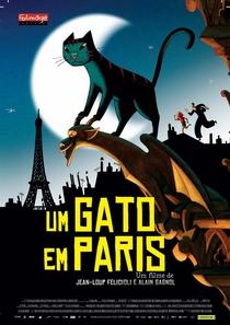 Um Gato em Paris - Poster / Capa / Cartaz - Oficial 4