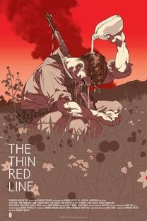 Além da Linha Vermelha - Poster / Capa / Cartaz - Oficial 7