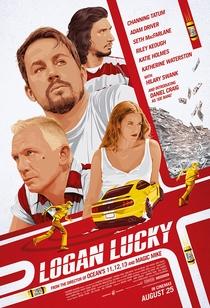 Logan Lucky - Roubo em Família - Poster / Capa / Cartaz - Oficial 6