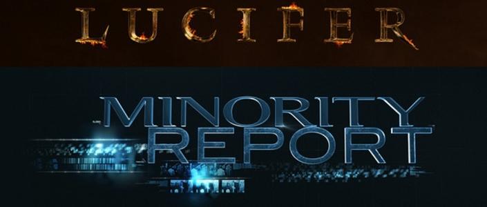 Fox lança primeiros trailers das séries Minority Report e Lúcifer