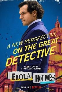 Enola Holmes - Poster / Capa / Cartaz - Oficial 3