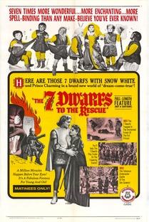 Os 7 Anões Contra o Príncipe Negro - Poster / Capa / Cartaz - Oficial 2