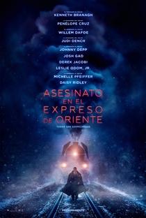 Assassinato no Expresso do Oriente - Poster / Capa / Cartaz - Oficial 4