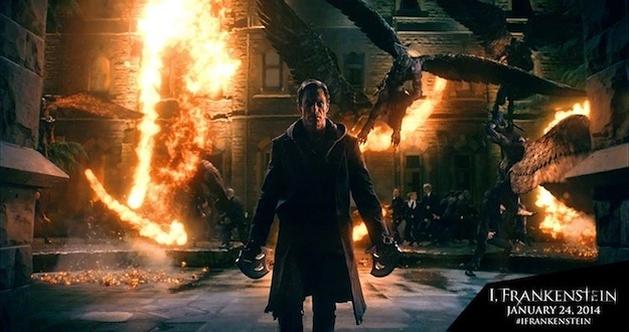 """Monstros atacando em nova imagem de """"Frankenstein: Entre Anjos e Demônios"""""""