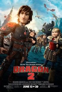 Como Treinar o seu Dragão 2 - Poster / Capa / Cartaz - Oficial 1