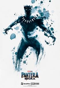 Pantera Negra - Poster / Capa / Cartaz - Oficial 5
