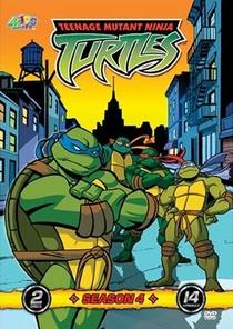 As Tartarugas Mutantes Ninja (4ª Temporada) - Poster / Capa / Cartaz - Oficial 1