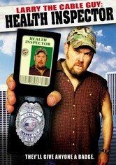 Larry the Cable Guy: Health Inspector - Poster / Capa / Cartaz - Oficial 1