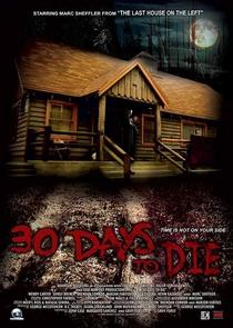 30 Days to Die  - Poster / Capa / Cartaz - Oficial 1