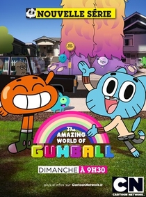 O Incrível Mundo de Gumball (3ª Temporada) - Poster / Capa / Cartaz - Oficial 7